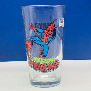 Amazing Spider-man drinking glass cup mug Marvel